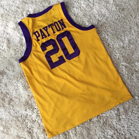 Nike Los Angeles Lakers Gary Payton Jersey Yellow.  M 5bd7e400baebf63e2fbf5905 51bb11822
